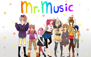 SS: Chorus - Mr. Music by MON0charms