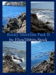 Rocky Shoreline Pack II by ElizaTibbits-Stock