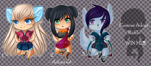 Chibi Adopts 01 [2 OPEN] by Lai-Tut