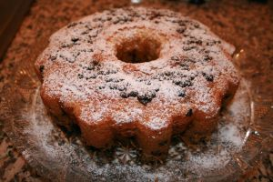 marble chocolate chip cake by snaplilly