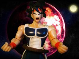 Dragon ball Z - Bardock by stopmotionOSkun