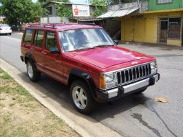 1986 AMC Jeep Cherokee by Mister-Lou