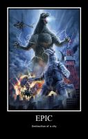 GODZILLA EPICNESS by Starwarsclub123