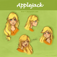 More Applejack by Innerd