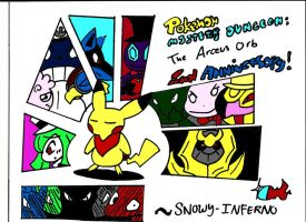 Arceus Orb 2nd Anniversary by snowy-inferno