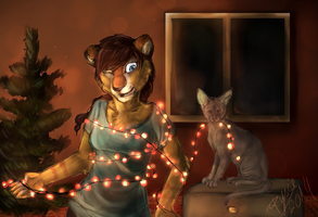 Getting ready for Christmas by Manulfacture