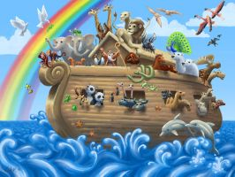 Noah's Ark by mighty5cent