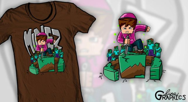 MineZ T-Shirt - Vaecon by FinsGraphics