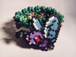 Butterfree Hama Bracelet by Retr8bit