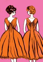 Enchanting Party Bouffants by -marysia-