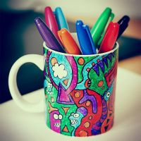 Sharpie cup by Andyk77