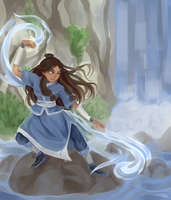 .: Waterbending :. by tasha-chi