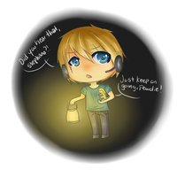 : Did you hear that, Stephano ? : by Nimmiii-tan