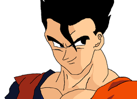 Ultimate Gohan by Delphsco
