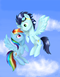 Up in the clouds by Zorbitas