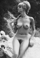 Outdoor Nude, Late 1960's by NJDVINTAGE