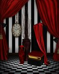 Red Room 01 Premade Bkgrd by CntryGurl-Designs