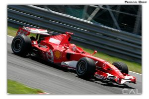 F1 Race: Ferrari Deep by Calzinger