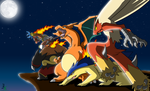 The 5 Fire Starters 3rd Evolution Colored by JamalC157
