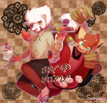 ADM: Kemono Cafe by Sunnynoga