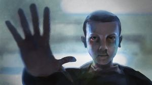 Stranger Things - Eleven by Theclockworkpainter