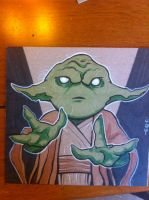 Lil Dude Yoda by MARR-PHEOS