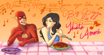 spaghetti is romantic, right? by sinzyu