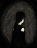 Tablet Drawing: Darkness by Demonic-Lunatic
