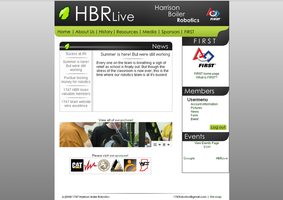 HBRlive home page by Orangedog22