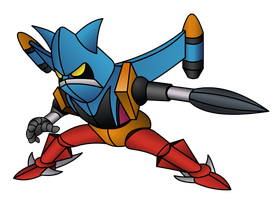 Getter Liger by virusxproject