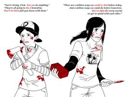 Seeing Red Pt. 2 -- TWD, TLOU by Destiny-Smasher