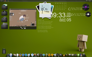 Tema para windows 7 Kagito by 117fausto