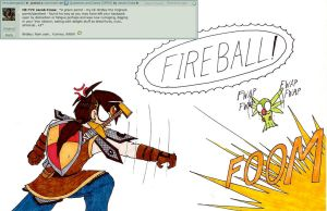 Question 111: Polly want a Fireball? by Jacob-Cross