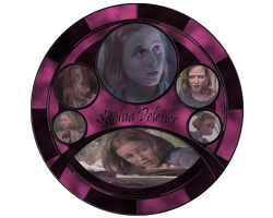 Sophia Peletier Stained Glass by jojopride