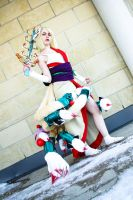 Ninetails- Okami by shelle-chii