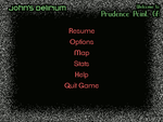 John's Delirium: Pause Menu Interface by LittleGreenGamer
