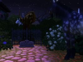 UNICORN graveyard pt 2 Hard to say goodbye by TheSims3Pets