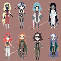 Adoptables! [Batch N3] /OPEN/ by K-dera