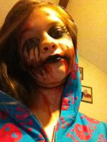 just a little fun makeup for when i got bored. by Jillyrix