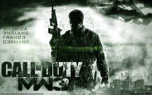 Call Of Duty: MW3 Wallpaper by BstonesDesigns