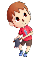 Villager by Drawn-Mario