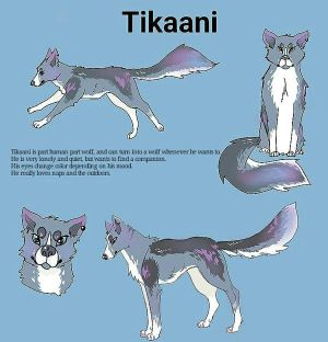 Tikaani as a wolf by KatyaHam