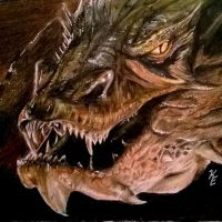 Smaug by KaitEveArt