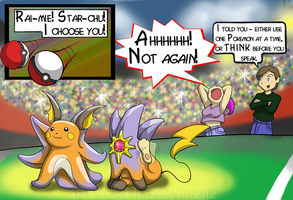 Pokemon: Dyslexic Attack by nirelle