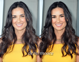 demi moore retouch by baboesch