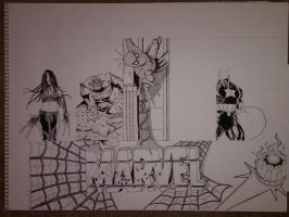 Marvel Project Update 6 WIP by DamCee