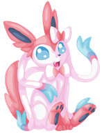 No. 700 Sylveon by Rubykickz