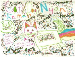 Cat and Dog Nyan Animal by Externity