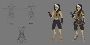 Sil's all round harness by predman1227