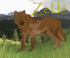 Zekle' ref sheet by Sharaiza